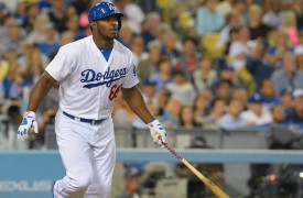 WATCH: Yasiel Puig Launches First Home Run