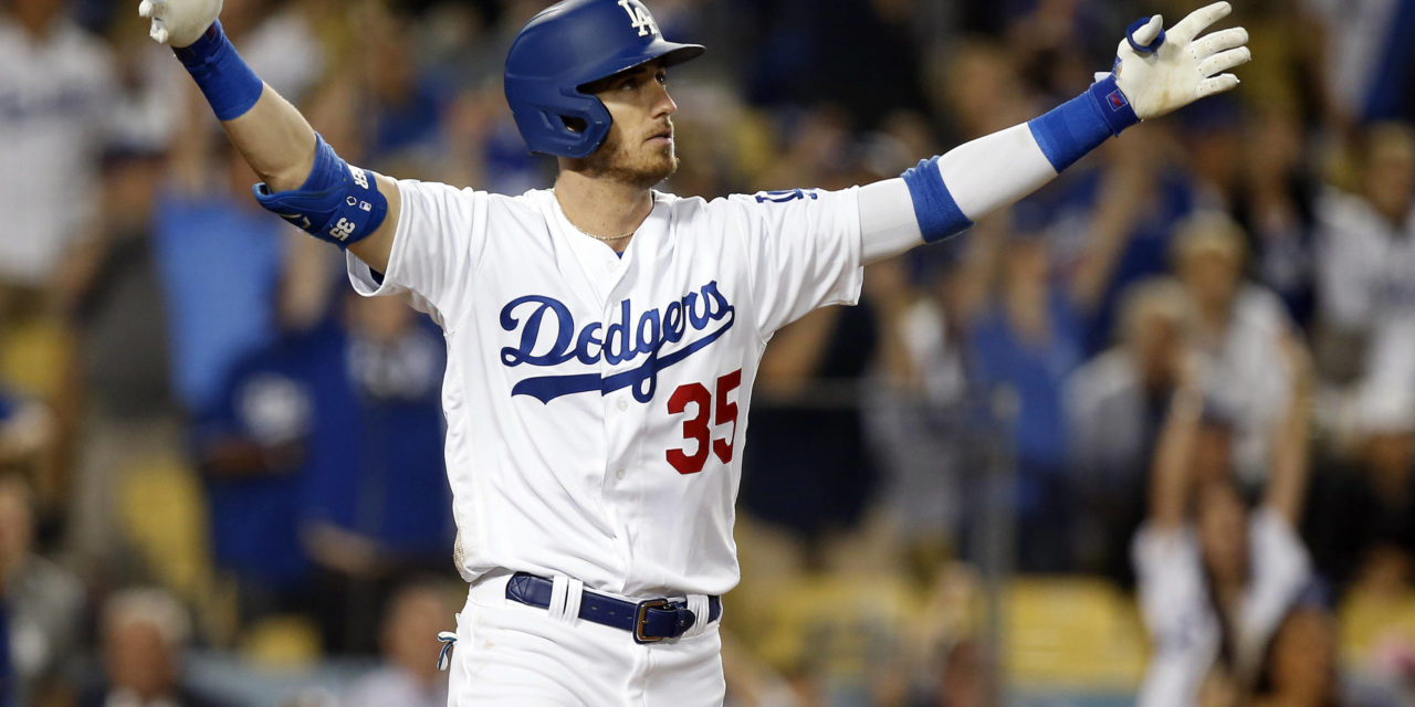 Cody Bellinger First in Dodgers Record Book for Home Runs Before 24