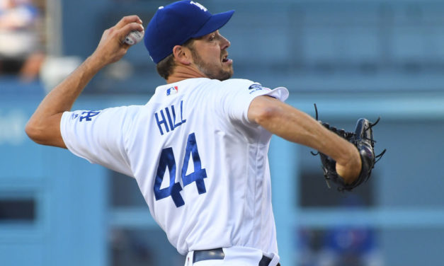 Dodgers: Rich Hill Throwing Progression In The Works