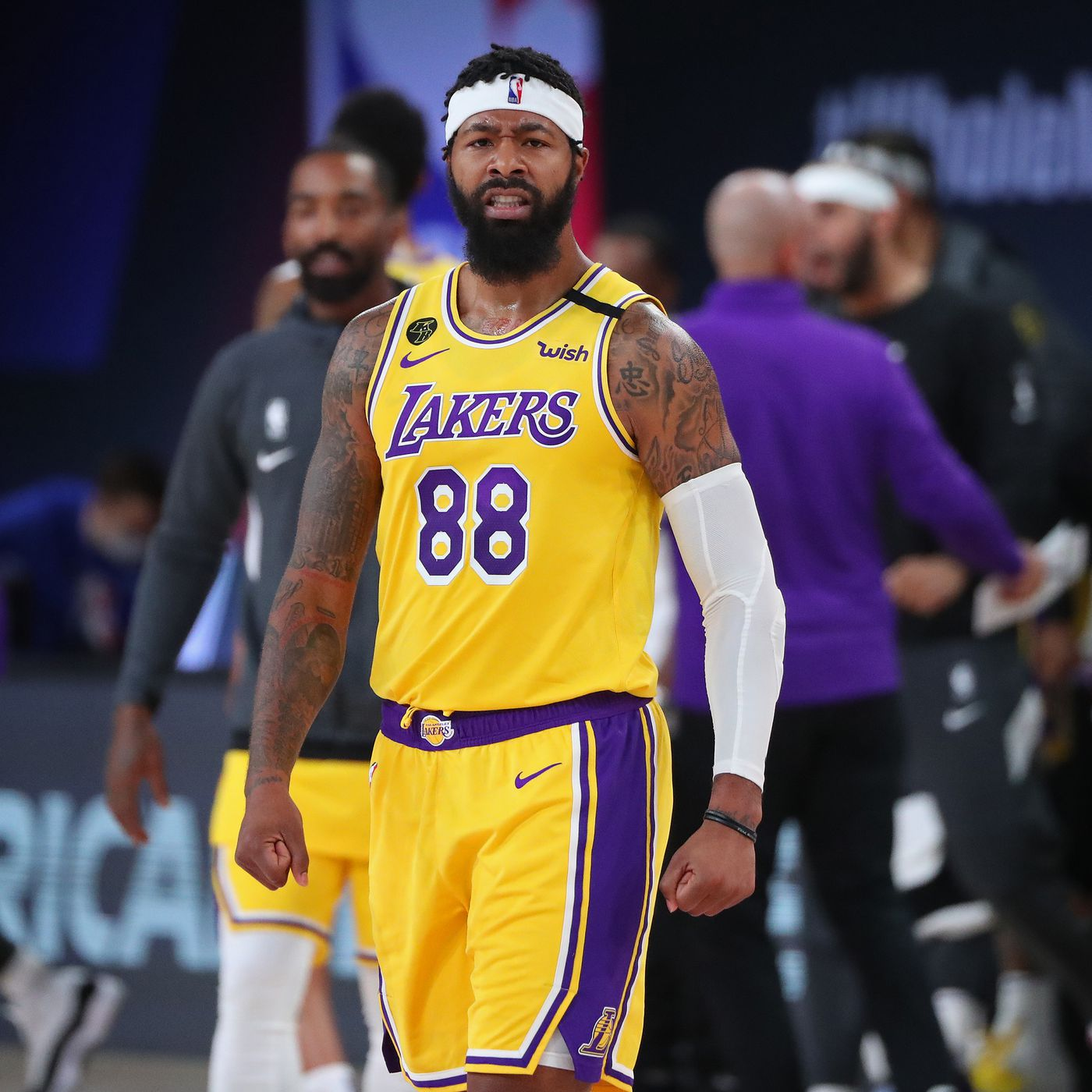 Lakers News: Markieff Morris Staying with Purple and Gold - LA ...